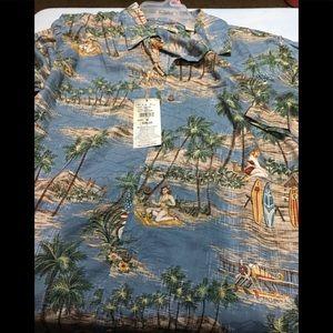 Mens new hawaiian shirt medium by batik bay